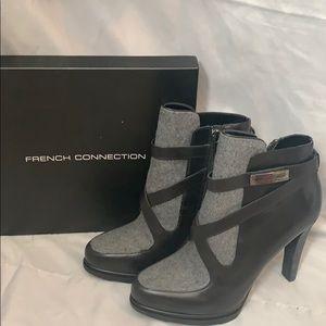 Women's heeled ankle booties